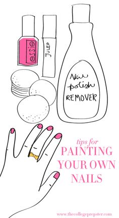 How to Paint Your Own Nails I know how to paint my nails but maybe some good tricks?