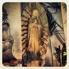 Virgin de Guadalupe at the Hacienda Photo by salbreceda