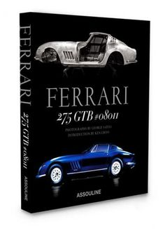 """Ferrari 275 GTB #08011 - Assouline """"GIFTS FOR HIM #Motorcyclebooks #cellphones #glassware #party #kitchenware #stylish #games #Barware #presents #favors #luxery  #Stationary #party #fashion #gifts #ornaments #favors #men's  #gourmetgiftboxes #engagement #aftershave """"#wedgewood #linkinprofile """"#cars #jewelry"""""""