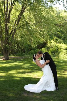 Nature is always a great compliment to a wedding!