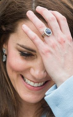 Duchess of Cambridge engagement ring wedding ring