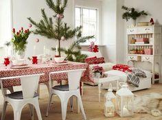 Scandinavian Christmas Dining