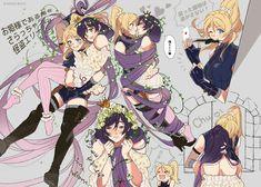 Yuri Comics, Anime Comics, Kawaii Art, Kawaii Anime Girl, Female Characters, Anime Characters, Love Live Nozomi, San Chan, Imagination Art