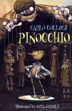 Upcoming Pinocchio movie based on Collodi and Grimly book.