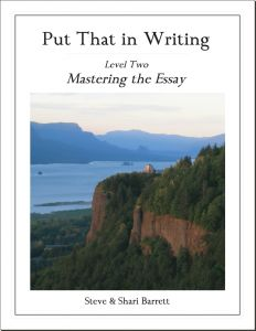 Trying this for step by step instruction to improve academic writing.
