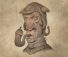Awesome Character Design Sketches by Penko Gelev