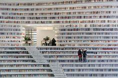Architectenbureau MVRDV bouwt de meest futuristische bibliotheek ter wereld - ELLE.nl