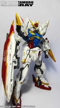 MG 1/100 Blitz Gundam Ver.Amuro: Modeled by Niko Barcelon (MrPink)