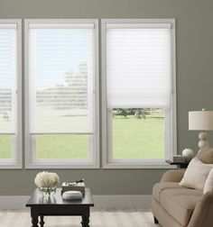 Simply window treatments room darkening sheer shade shown in simply the bes Sheer Shades, Light Shades, Shades Blinds, Bathroom Window Treatments, Blinds For Windows, Window Blinds, Room Darkening, Minimalist Home, Window Coverings