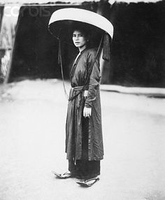 A Tonkinese lady in 1926