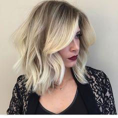 Hair crush To doidinha pra ✂️✂️✂️ ! Vou ou não? #ajudagente #longbob A foto é do @romeufelipe