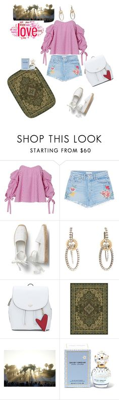"""""""Untitled #5665"""" by ayse-sedetmen ❤ liked on Polyvore featuring Caroline Constas, GRLFRND, John Hardy and Marc Jacobs"""