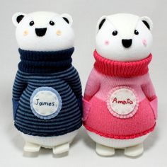 Twin Polar Bear Sock Dolls called James and Amelia found their #foreverhomes in Sydney Australia.   James and Amelia are inseparable. They love being together. James is quite serious and he likes to build and make. Amelia is quite sweet, and she prefers to create. Both polar bears are sweet and absolutely adore each other. Whilst they are different, James preferring the details in life and Amelia liking to live life with big broad strokes, they are both similar in their sweet natures and…