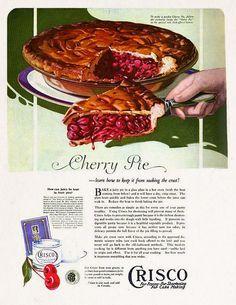 Crisco Cherry Pie