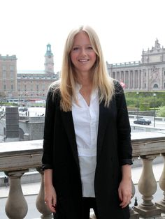 EBBA VON SYDOW / Wearing Rodebjer and Acne Studios