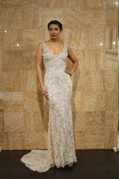 An opulent and elegant wedding gown from stephen yearick for Roaring 20s wedding dress
