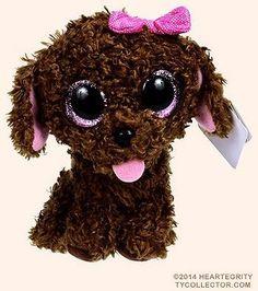 Maddie Beanie Boo - 6 in Ty Beanie Boos, Beanie Boo Dogs, Beanie Boo Party, Rare Beanie Babies, Ty Teddies, Big Eyed Stuffed Animals, Ty Peluche, Beanie Boo Birthdays, Ty Animals