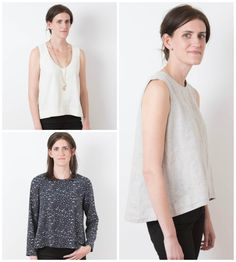 Purchase Grainline Studio 11008 Hadley Top and read its pattern reviews. Find other sewing patterns.
