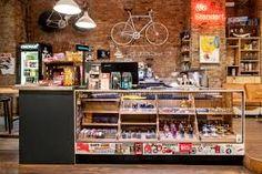 Standert Bicycle café cafe Bici, café y lycra Bicycle Cafe, Bicycle Store, Cycle Shop, Bike Shed, Bike Frame, Trendy Home, New Shop, Retail Design, Store Design