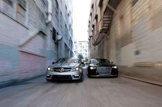 Comparison: 2014 Audi RS 5 vs. 2014 Mercedes-Benz C63 AMG 507 Edition