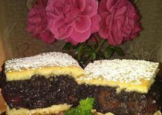 Extra Mákos- meggyes lepény   Ófi🍰 receptje - Cookpad receptek Poppy, Desserts, Food, Tailgate Desserts, Deserts, Essen, Postres, Meals, Dessert