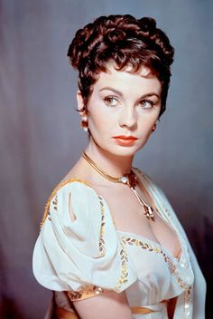 """Jean Simmons as """"Desiree"""" with Marlon Brando 91954) The story of Napoleon Bonaparte's little known first love."""