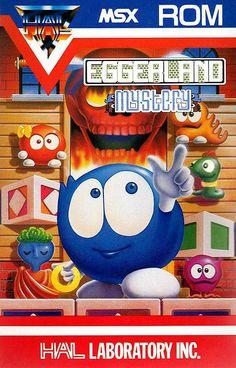 MSX Eggerland Mystery cover