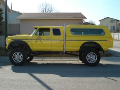 70s Ford Supercab 4X4