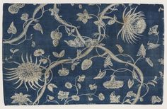 cinoh: Textile, Bromley Hall (most likely Foster & Co.), 1790s, Middlesex, England. Printed cotton. Gift of Harold M. Bailey, 1960-79-20 - See more at: http://www.cooperhewitt.org/object-of-the-day/2014/01/24/flowers-sass#sthash.ZfIkp3se.dpuf