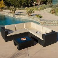 5 Piece Outdoor Sofa