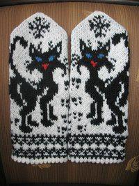 "Вязание. Жаккард - ""Зимняя радуга"" | VK Knit Mittens, Knitting Socks, Mitten Gloves, Knitting Patterns Free, Free Knitting, Baby Knitting, Irish Crochet, Knit Crochet, Crochet Hats"