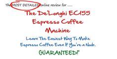 DeLonghi EC155 Espresso Machine Reviews, Espresso Coffee Machine, Online Reviews, Machine Learning, Espresso Maker