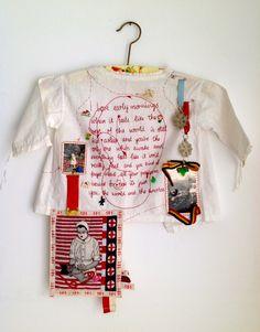 Embroidery - Karin van der Linden. www.openpoortendag.nl