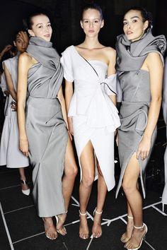 Maticevski SS1516 Fashion Sydney Backstage | Sonny Vandevelde