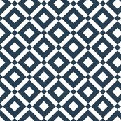 diamond (navy) fabric by thebline for sale on Spoonflower - custom fabric