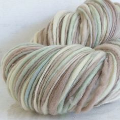 Handspun Yarn - Garden Gate - bulky merino