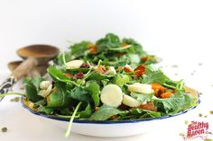 Detox Kale Salad - 25 mins roasting time.  4 oz baby kale 1 large sweet potato, chopped into bite-sized pieces 1 tsp coconut oil or olive oil (or spray of either) 6 hearts of palm, chopped 1/2 cup pumpkin seeds (roasted or raw) 1/2 cup dried cranberries For the dressing: 3 T balsamic vinegar 1/2 cup extra virgin olive oil 1 T dijon mustard 1.5 tsp honey 1 squirt of anchovy paste (optional) salt and pepper, to taste