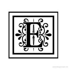letter+e+picture+printable | Letters Alphabet Gallery - Free Printable Alphabets | LETTER ...