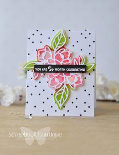 Lostinpaper - Yupo - MFT - Spellbinders - Concord & 9th (card video) 1