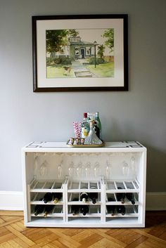 A Minneapolis Homestead: DIY Projects to Make Any Backyard Into a Staycation this needs to happen! Diy Home Bar, Diy Bar, Diy Home Decor, Repurposed Furniture, Cool Furniture, Furniture Ideas, Home Projects, Home Crafts, Diy Crafts