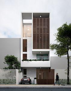 On behance minimal architecture, architecture building design, building facade, facade Minimal Architecture, Facade Architecture, Residential Architecture, Contemporary Architecture, Residential Lighting, Contemporary Interior, Villa Design, Facade Design, Modern House Design