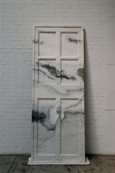 Marble Door Ai, Weiwei 2007 -your head in the clouds