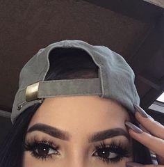 Image about girl in Eyebrows by Supreme on We Heart It Makeup 101, Eyebrow Makeup, Skin Makeup, Eyeshadow Makeup, Makeup Inspo, Beauty Makeup, Pretty Makeup, Makeup Looks, Best Bronzer
