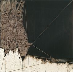 "rerylikes: "" Emilio Scanavino. Alfabeto senza fine 7, 1970. Olio su tavola, 150 x 150 """