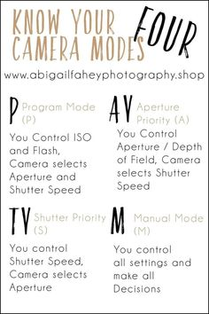 Learn how to master you DSLR camera with our tips and tricks. This camera modes . - Learn how to master you DSLR camera with our tips and tricks. This camera modes … Learn how to master you DSLR camera with our tips and tricks. This camera modes … – Dslr Photography Tips, Photography Cheat Sheets, Photography Challenge, Photography Tips For Beginners, Photography Lessons, Photoshop Photography, Photography Tutorials, Digital Photography, Professional Photography