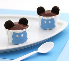 Mickey Pudding Cups