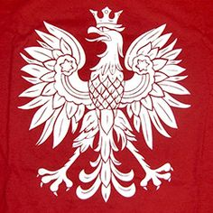 Polish Art Center - Red And White Polish Eagle T-Shirt, Adult Polish Eagle Tattoo, Polish Tattoos, Polish Symbols, Polish Names, Eagle Outline, White Polish, Red Polish, Poland Facts, Art History Major