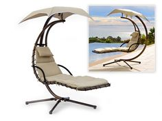 Fuck yes I want one! Dream Chair swinging chaise lounge
