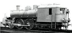 The Gr670 4-6-0 Cab-Forward Compound Locomotive.