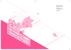 SQM - the quantified home - Architecture Portfolio Layout, Architecture Drawing Sketchbooks, Conceptual Architecture, Architecture Concept Drawings, Architecture Graphics, Portfolio Design, Landscape Architecture, Axonometric Drawing, Architectural Section